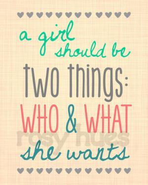 Girl Empowerment Quotes Girl empowerment quote art set