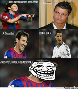 Related Pictures Messi Ronaldo Meme Center Funny 4802203970896001 Jpg ...