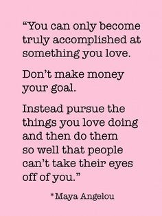 Love this! If you have a fitness goal, find the things you love doing ...