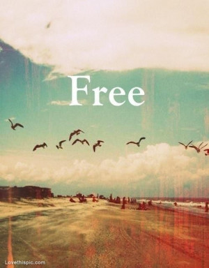 Free quotes positive quotes colorful vintage clouds birdsLife Quotes ...