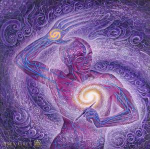 """Cosmic Artist"""" by Alex Grey"""