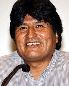 evo morales bolivian statesman juan evo morales ayma popularly known ...