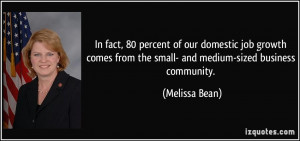 More Melissa Bean Quotes