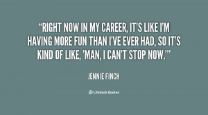 Jennie Finch Inspirational Softball Quotes