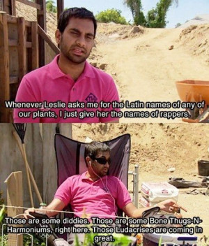 Latin names of any of our plants - Tom Haverford from Parks and ...