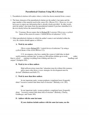 mla format for parenthetical citations Please use the example at the bottom of this page to cite the purdue owl in mla parenthetical citation in formatting and style guide the purdue owl.