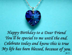 Happy Birthday To You My Friend Quote