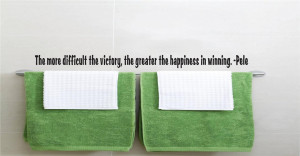 Details about Pele Quote | Vinyl Wall Decals | Soccer Sticker 22