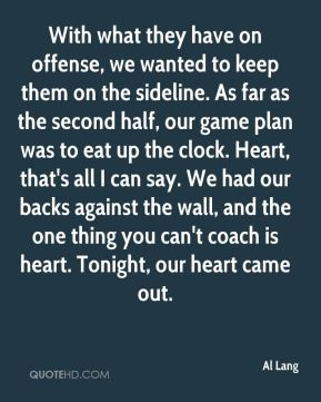 Sideline Quotes