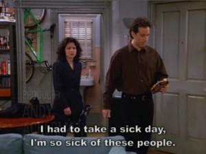 Seinfeld Quote- Season 9
