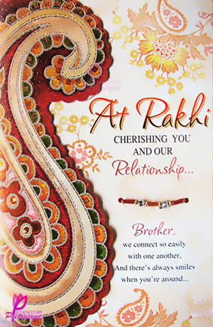 ... Bandhan Greetings Cards for Sisters and Brothers with Quotes & Poems