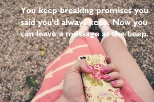 cute, fashion, girl, heartbroken, love, phone, pink, pretty, quote ...
