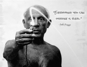 Pablo Picasso on reality