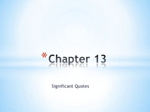 Never let me go chapter 13 significant quotes