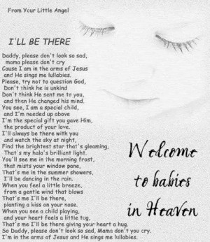 Baby Angels in Heaven Quotes Quotes About Babies in Heaven