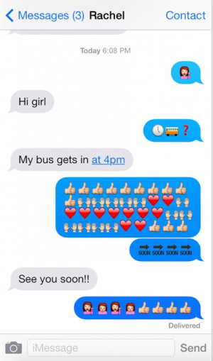 Only Used Emoji To Text For A Week To See If It Could Replace The ...