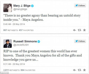 Maya Angelou is found dead at 86