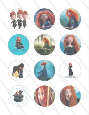 Disney Pixar Brave Princess
