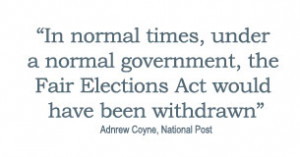 ... purpose of perpetrating election fraud in the 41st General Election