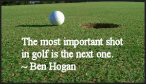 Famous Golf Quote: