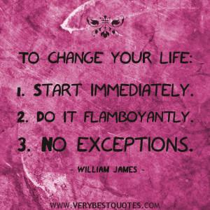 Change Your Life Quotes Change your life quotes: