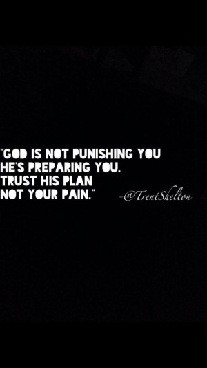His plans are greater than mine...