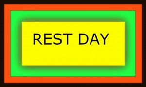 You know what day its today as per our week 1 Fitness program ??