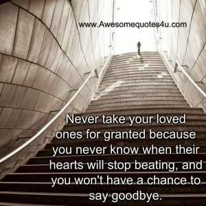 never+take+granted