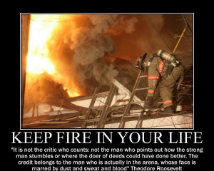Firefighter Quotes About Brotherhood With a great quote.