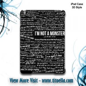 The Dark Knight Quotes iPad Case Back Cover for ipad Mini, iPad Air ...