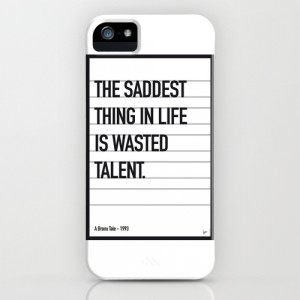 My Bronx Tale Movie Quote poster iPhone & iPod Case