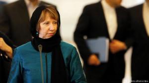 Catherine Ashton in Iran
