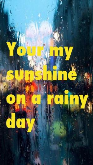sunshine #Rain #quotes
