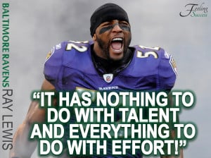 The Great Ray Lewis, telling it how it is!