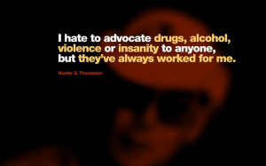 ... text humor quotes hunter s thompson 1280x960 wallpaper download