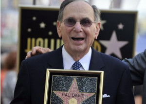 Leaving behind a great legend, Hal David died at the age of 91 on ...