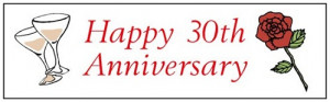 Have a wonderful day and I wish you 30 more years of marriage and a ...
