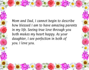 Love You Mom And Dad Quotes Mom and dad anniversary quotes
