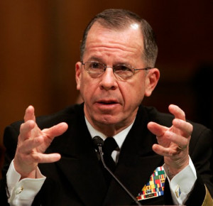 Quote Of The Day - Admiral Mike Mullen