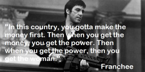 2012 At In Quotes Of Tony Montana For Scarface Use On Facebook Picture