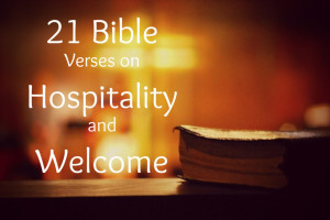 Bible Verses on Hospitality