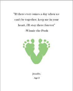 Kids' Footprint Art