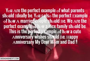 ... Anniversary Quotes For Parents Anniversary-wishes-for-parents