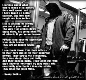 Henry Rollins Quotes Iron mind henry rollins