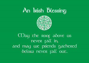 St Patrick's Day 2015 Green Color Quotes Wallpapers, Images, Pictures