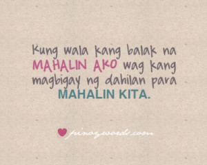 ... ako mahalin kita love quotes mahalin ako mahalin kita love quotes
