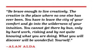 Graduation Quotes For Sister I love this quote by alan alda