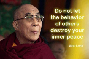 There is a saying in Tibetan, 'Tragedy should be utilized as a ...