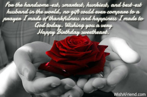Happy Birthday Handsome Quotes Wishing you a very happy