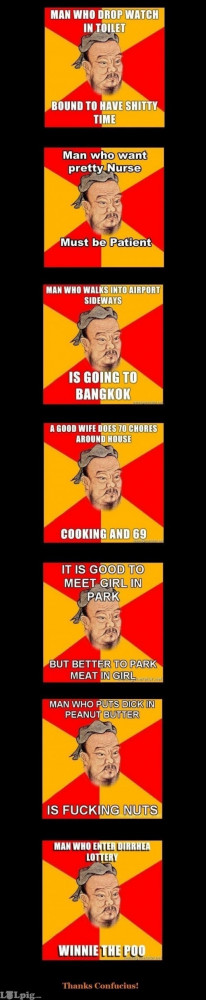confucius quotes, funny